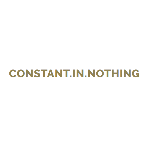 Constant.in.nothinG | Личен блог